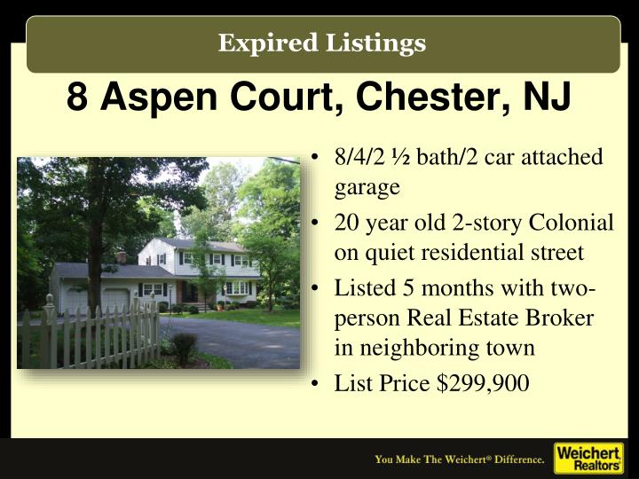8 Aspen Court, Chester, NJ
