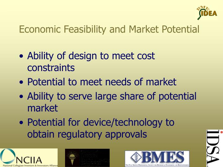 Economic Feasibility and Market Potential