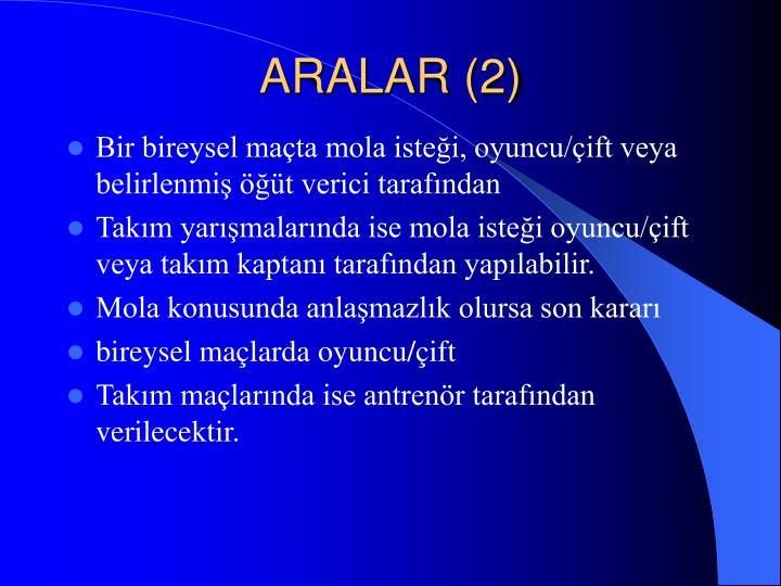 ARALAR (2)