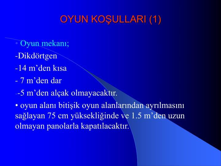 OYUN KOŞULLARI (1)