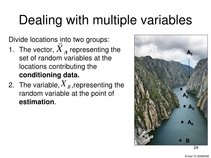 Dealing with multiple variables