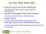 on the fmc web site