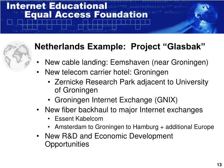 "Netherlands Example:  Project ""Glasbak"""