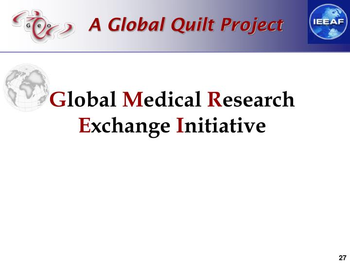 A Global Quilt Project