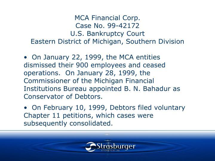 MCA Financial Corp.