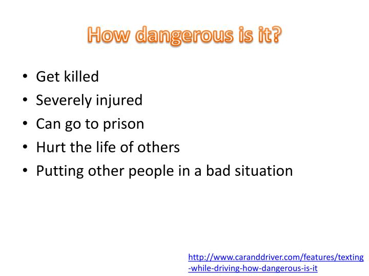 How dangerous is it?