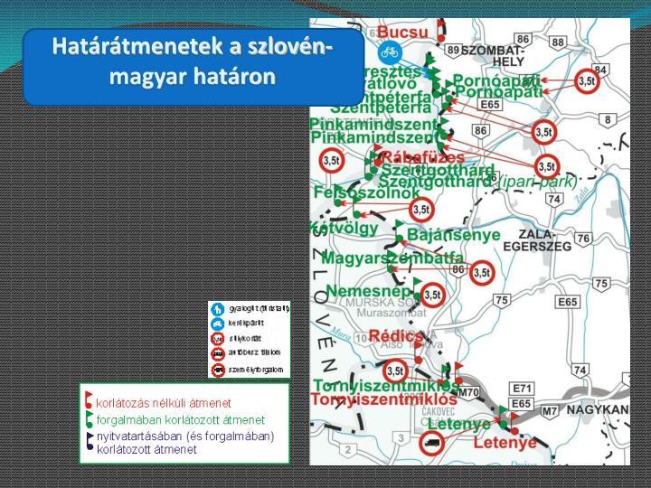 Határátmenetek a szlovén-magyar határon