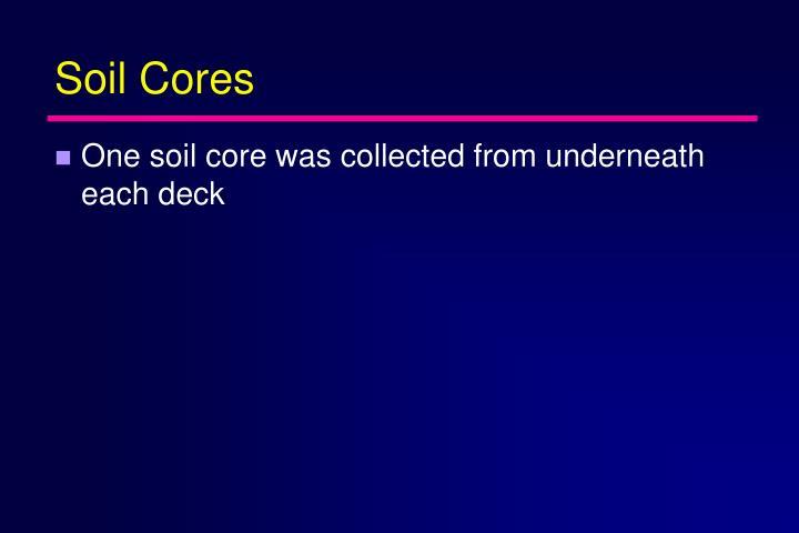 Soil Cores