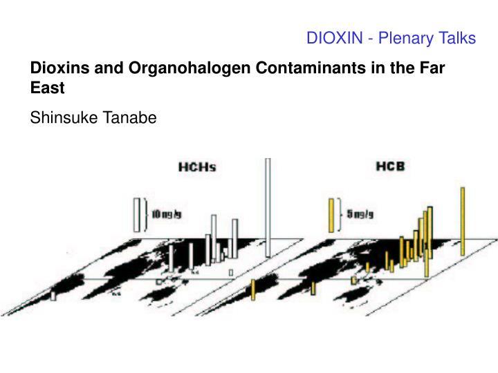 DIOXIN - Plenary Talks