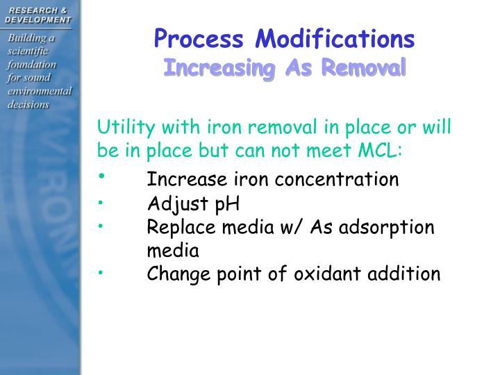 Process Modifications