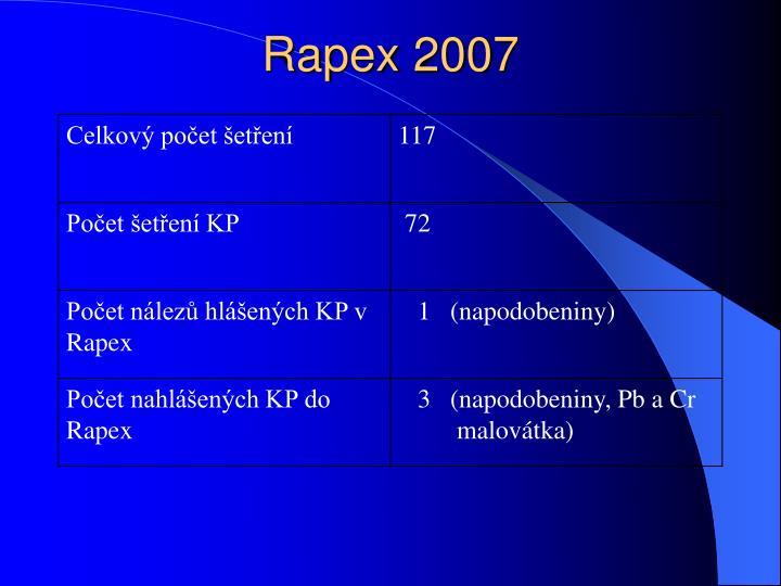 Rapex 2007