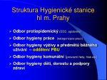 struktura hygienick stanice hl m prahy