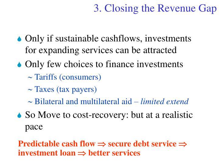 3.Closing the Revenue Gap