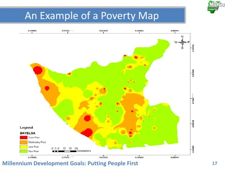 An Example of a Poverty Map