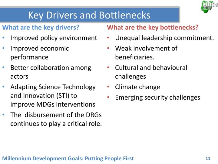 What are the key drivers?