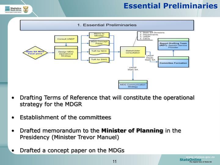 Essential Preliminaries