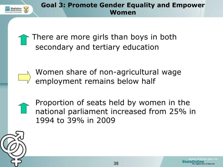 There are more girls than boys in both secondary and tertiary education