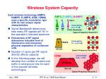 wireless system capacity