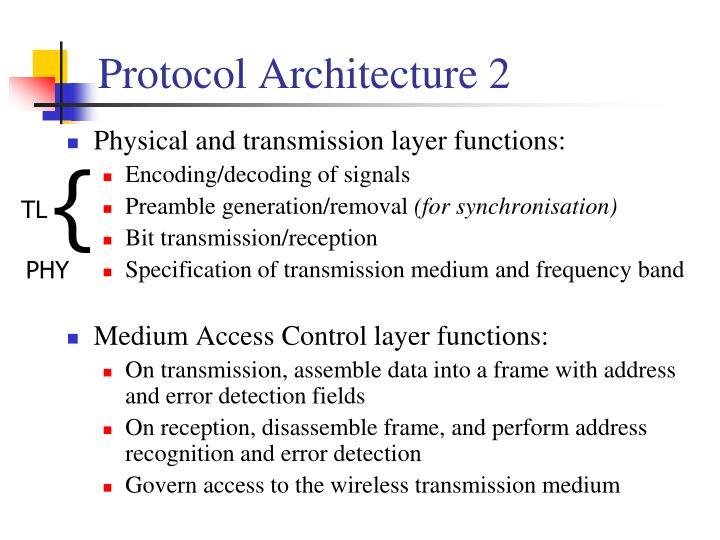 Protocol Architecture 2