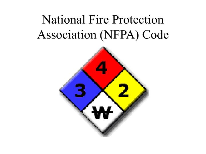 National Fire Protection Association (NFPA) Code