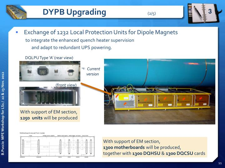 DYPB Upgrading