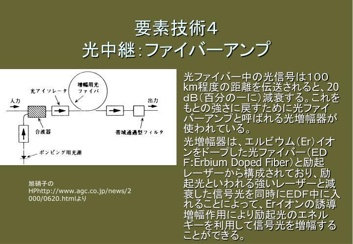 要素技術4