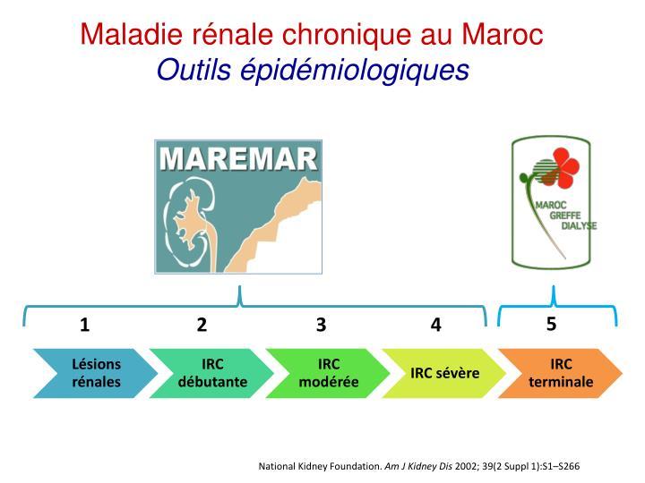 Maladie rénale chronique au Maroc