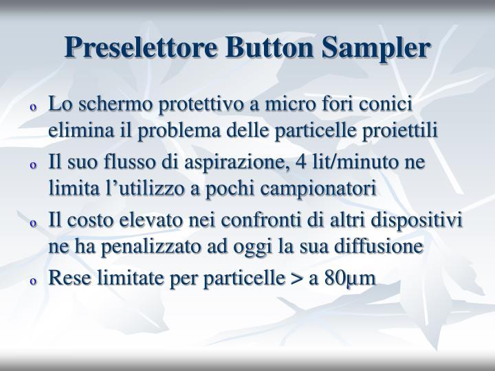 Preselettore Button Sampler
