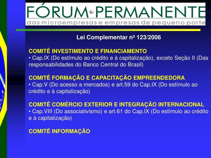 Lei Complementar nº 123/2006