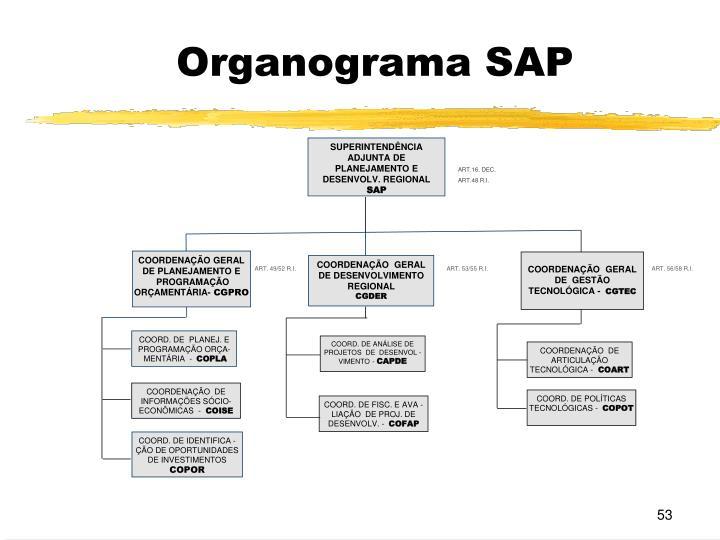 Organograma SAP