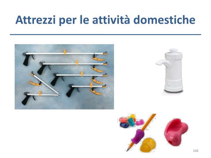 Attrezzi per le attività domestiche