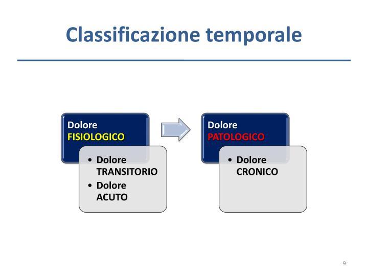 Classificazione temporale