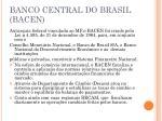 banco central do brasil bacen