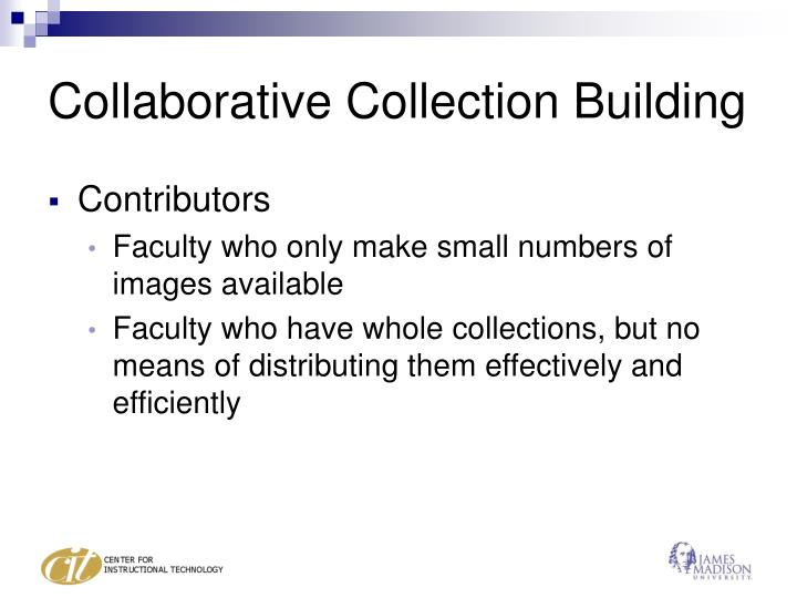 Collaborative collection building