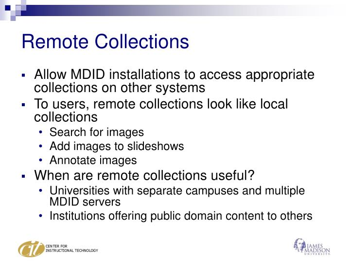 Remote Collections