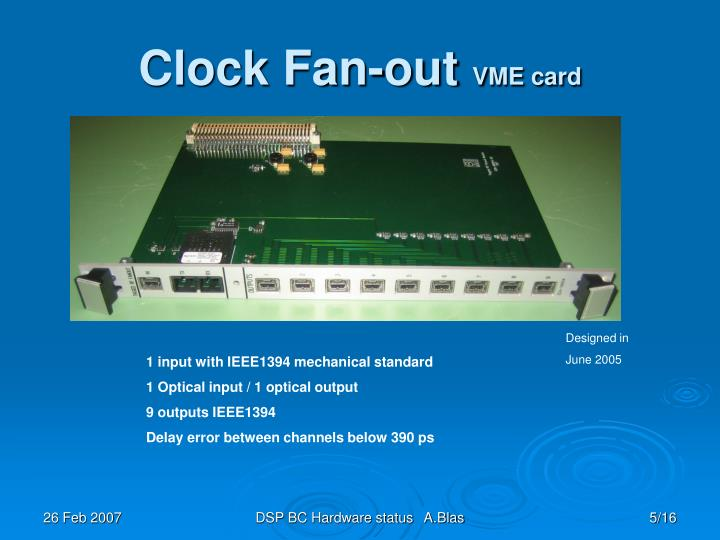 Clock Fan-out
