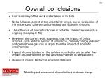 overall conclusions1