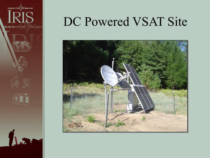 DC Powered VSAT Site