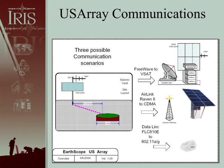 USArray Communications