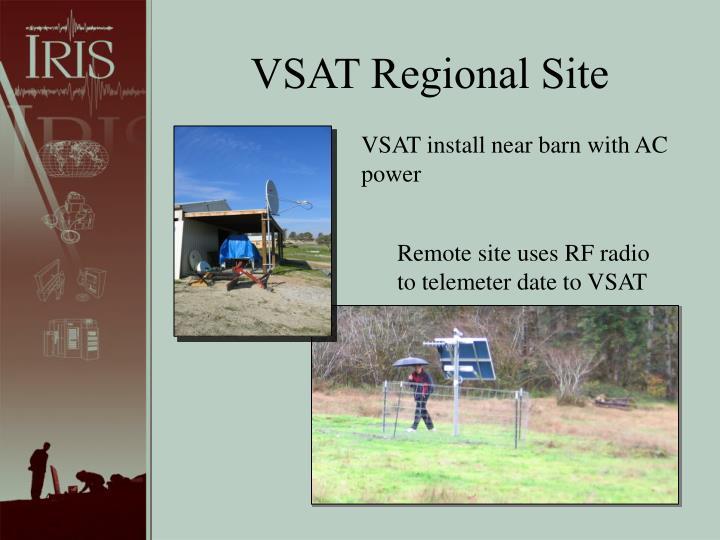 VSAT Regional Site