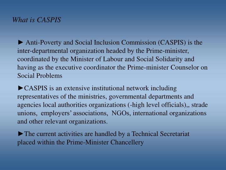 What is CASPIS