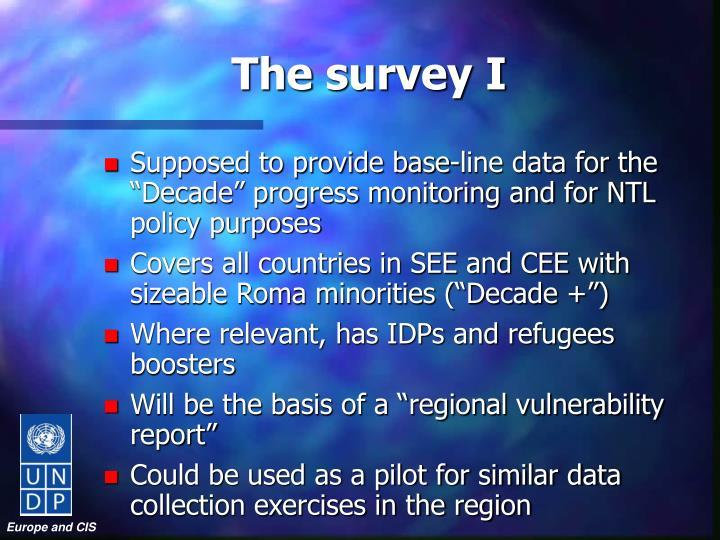 The survey I