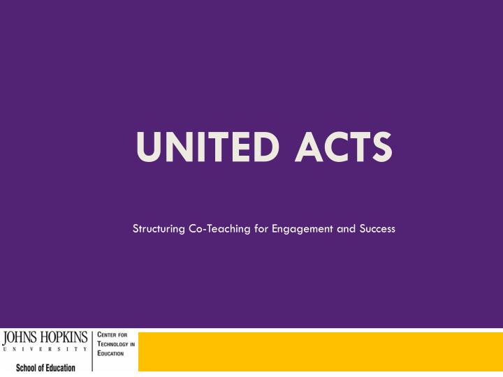 Structuring Co-Teaching for Engagement and Success