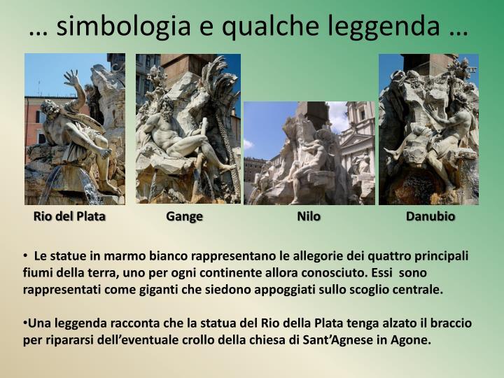 … simbologia e qualche leggenda …
