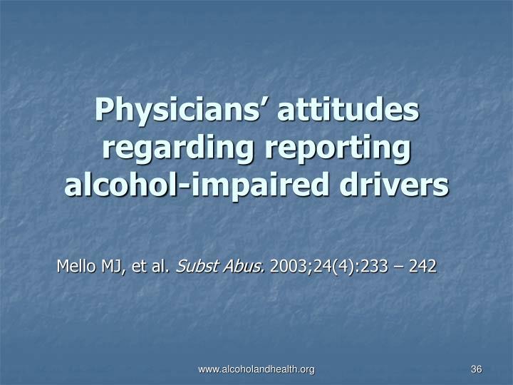 Physicians' attitudes