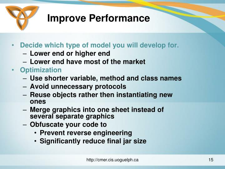 Improve Performance