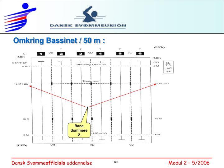 Omkring Bassinet / 50 m :