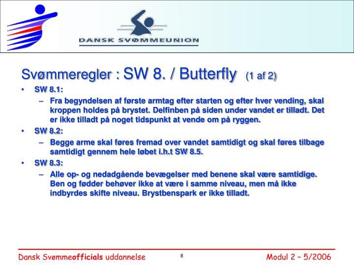 Svømmeregler :
