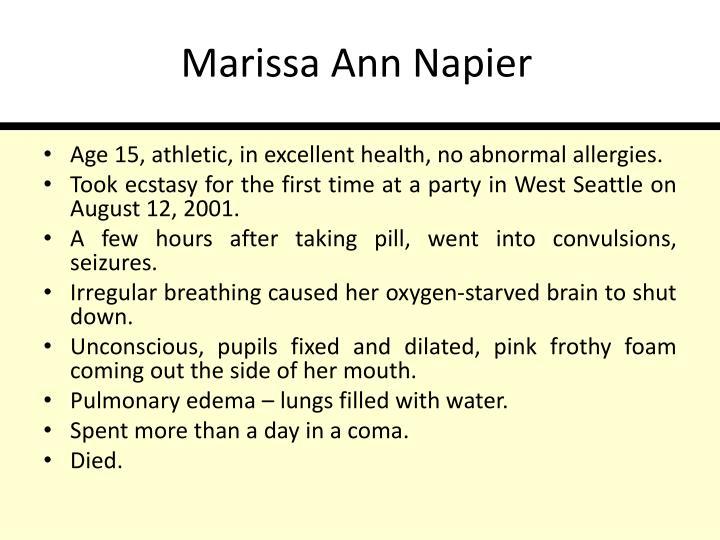 Marissa Ann Napier