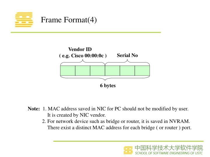 Frame Format(4)